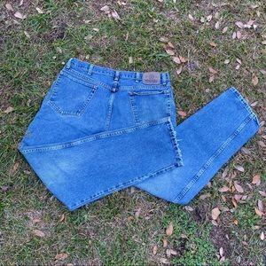 Vintage Wrangler denim mom jeans - plus size